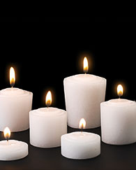 Devotional Votive Lights and Candles