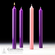 Advent Altar Candles