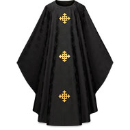 Black and Grey Chasubles for Funerals