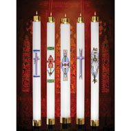 Refillable Liquid Paschal Candles