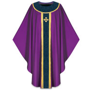 Purple Chasubles for Lent and Advent