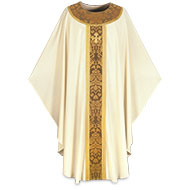 White Chasubles for Christmas, Easter and Festive Occasions