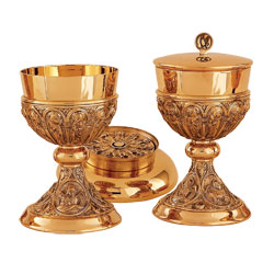 Chalice and Bowl Paten Style A-4136G