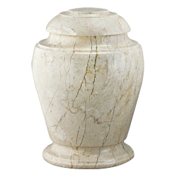Urn - Stone Travertine