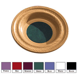 Dura-Strength Offering Plates, oak tone finish
