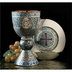 Chalice The Tassilo - Fire Enameled