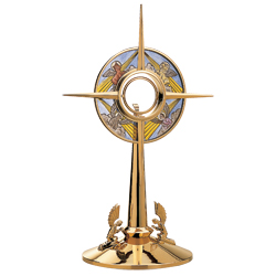 Monstrance - Stained Glass