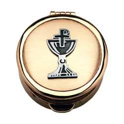 Pyx - Chalice, polished gold plate