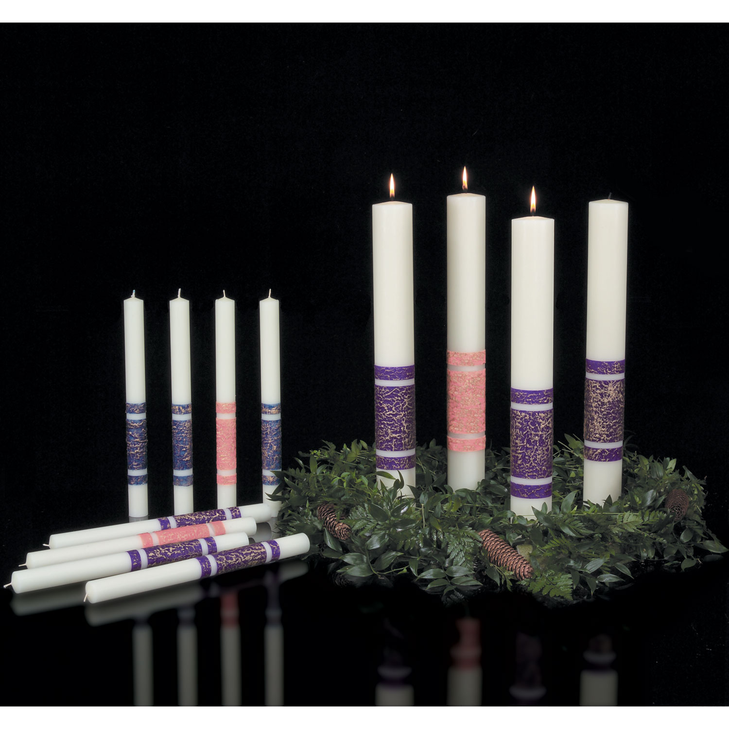 Advent Candles - Artisan Wax