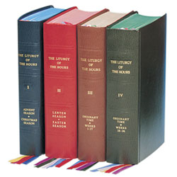 Liturgy of the Hours: Set of 4 Style 409/10