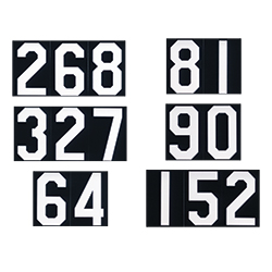 hymn board slides numbers churchsuppliescom With hymn board numbers and letters