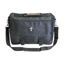 Black Briefcase with Deacon Logo