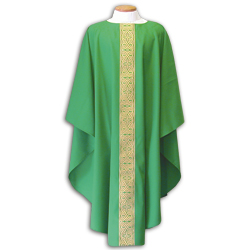 Beau Veste - Green Chasuble