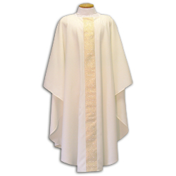 Beau Veste - White Chasuble