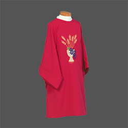 Dalmatic - Chalice, Grapes and Wheat (Beau Veste)
