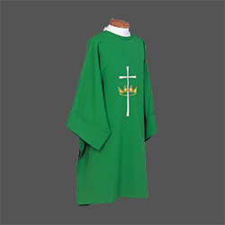 Dalmatic - Cross and Crown (Beau Veste)