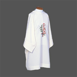 Dalmatic - Chi Rho and Wheat (Beau Veste)