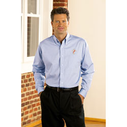 Wrinkle Free Long Sleeve Deacon Oxford Shirt