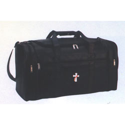 Beau Veste - Simulated Leather Deluxe Travel Bag with Deacon Logo