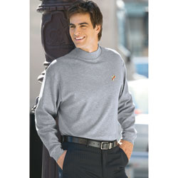 Long-Sleeve Mock Turtleneck - Deacon
