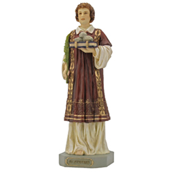 Statue - St. Stephen, Color