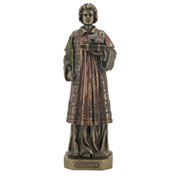 Statue - St. Stephen, Cold-Cast Bronze