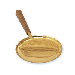 Communion Paten, Gold Plated