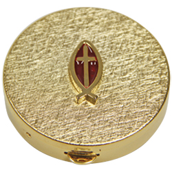 Communion Pyx | Gold Plated (10 host capacity)