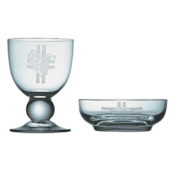 Chalice and Paten Set, Crystal