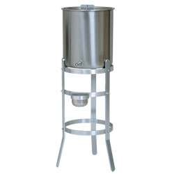 Holy Water Tank WITHOUT HANDLES and Stand, 15 gallon