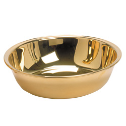 Basin, Gold Plated