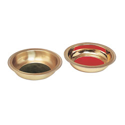 Collection Plate, Bright Brass