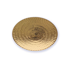 Paten with Textured Design, Gold Plated