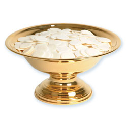 Ciborium Bowl, Gold Plated