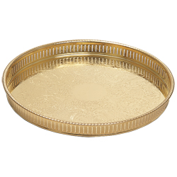 Gallery Tray, Gold Plated