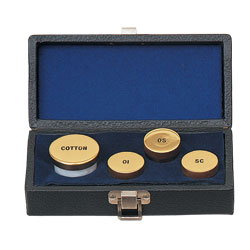 Sacristy Oil and Cotton Set, Gold Plated