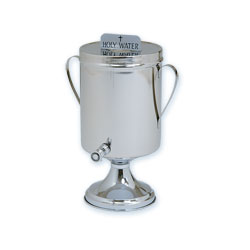 Holy/Baptismal Water Urn With Handles