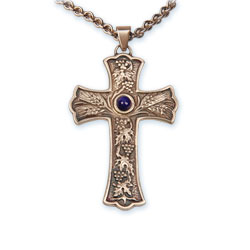 "Pectoral Cross with 32"" chain"