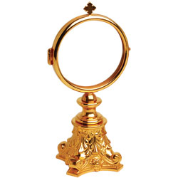 Chapel Monstrance, Gold Plated