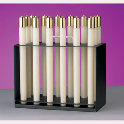 "Lux Mundi Candle Rack for 1"" Liquid Paraffin Candle Shells"