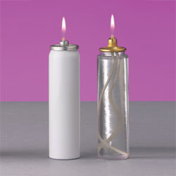 Refillable Can for 1-7/8 and 2 inch Candle Shells | 25 hour