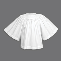 Liturgical Surplice - Extra Full Cut Style 110
