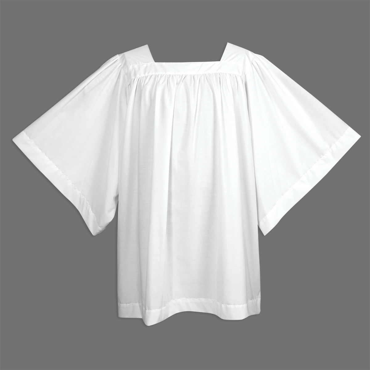 Square Yoke Surplice for Altar Servers | Style 113 | Abbey Brand