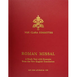 Roman Missal: A Study Text with Excerpts from the New English Translation
