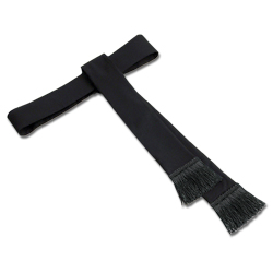 Women's Clergy Band Cincture | Black