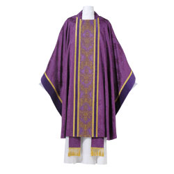 Arte Grosse Baroque 6410 Chasuble - Purple