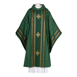 Arte Grosse Macarius Chasuble - Dark Green