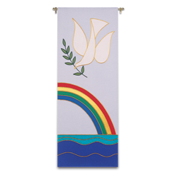 Tapestry/Banner - Noah Rainbow and Dove