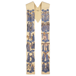 Slabbinck 50-3309 Life of the Blessed Mother Overlay Stole -White
