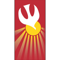 Inside Banner, small - Holy Spirit - Red, small